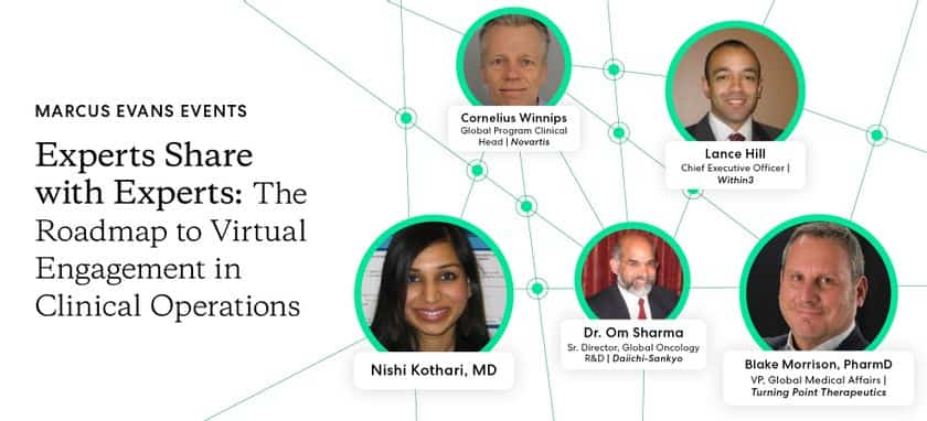 Webinar Recap: The Roadmap to Virtual Engagement in Clinical Operations